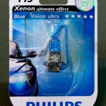 Галогенная лампа PHILIPS Blue Vision Ultra Н3, DC 12V, 55W, 1 шт