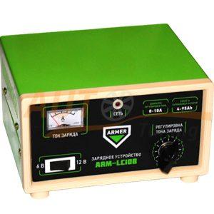 ARMER - Автомобильное зарядное устройство, 6V и 12V, 10A, ARM-LC10B