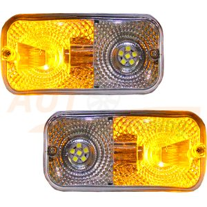 SIRIUS – Универсальная передняя оптика, габарит с дублером поворота, 2 шт, PPS-300