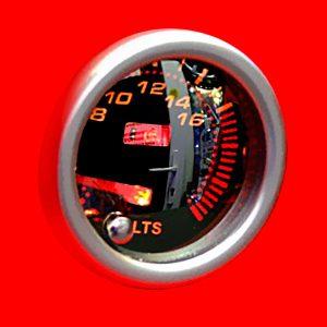 KETGAUGE - Аналоговый вольтметр с LED-подсветкой дисплея, 7С7701-1