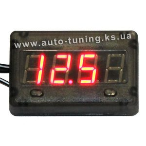 PILOT - Часы, вольтметр, тахометр и термометр, автомобильный мультиметр с цифровым дисплеем