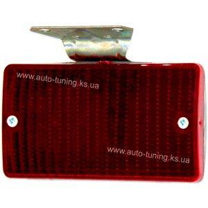 Дополнительный СТОП-сигнал на металлическом кронштейне, 1 шт, Red