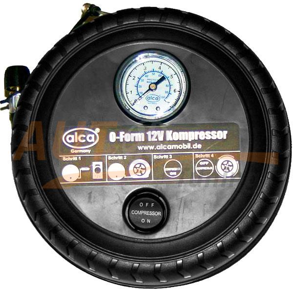 ALCA - Воздушный портативный компрессор «Колесо», 12В, (17Бар), 241000