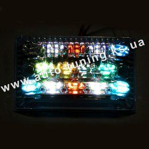 Белый LED-фонарь подсветки номера c процессором RGB-эффектов, FA-3208