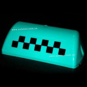 "Auto Sports - ""Шашка"" такси, запасное стекло для ремонта фонаря знака такси (Aquamarine)"