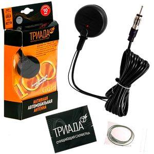 ТРИАДА - Активная антенна для приема радио в FM/UNF диапазонах GOLD 100