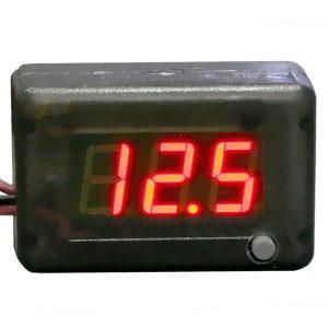 АПрИ - Вольтметр, термометр автомобильный с цифровым дисплеем, АП-12