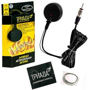 ТРИАДА - Активная антенна с дополнит. приемом УКВ 66-74 МГц, 160 Gold Euro