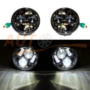 Тюнинговая оптика, светодиодные фары на ВАЗ 2103-2106, 2шт, KRM-3010