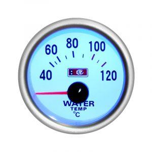 Автомобильный термометр, указатель температуры воды Ø 52 мм, LED 7702