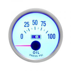Автомобильный манометр, указатель давления масла Ø 52 мм, LED 7704