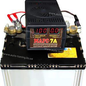 Автомобильное интеллектуальное зарядное устройство, МАРС 7А