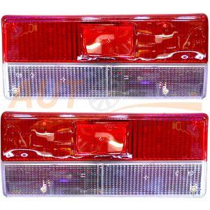 Комплект стекол СТОП-сигналов на ВАЗ-2107, 2 шт, CN-1221