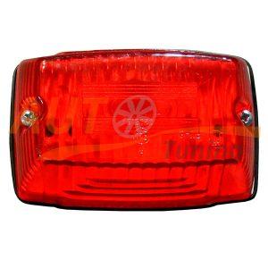 Габаритный фонарь типа «Santa» LED DC 12-24V, Красно-белый, 1 шт, RV-601