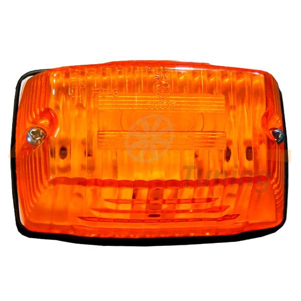 Габаритный фонарь типа «Santa» LED DC 12-24V, Оранжевый, 1 шт, OL-607