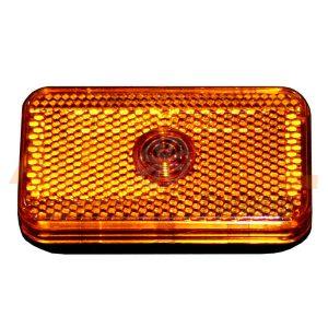 Габаритный фонарь типа «Leopold», 80×45 (мм), Оранжевый, 1 шт, OR-703