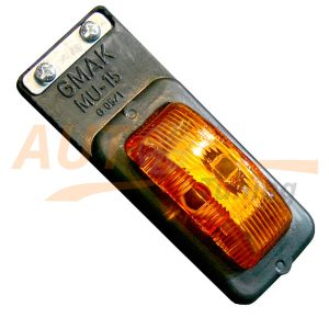 GMAK – Оранжевый габаритный фонарь на фуру, Orange, MU-15