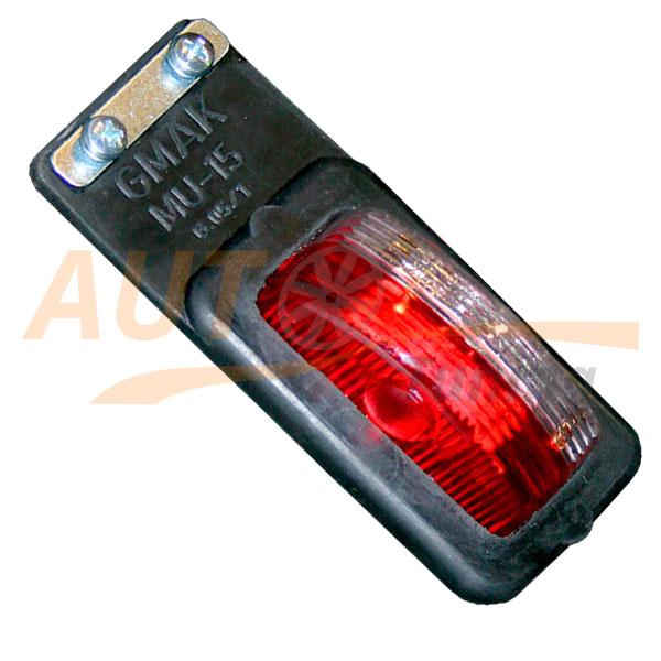 GMAK – Красный габаритный фонарь на фуру, Red, MU-15RW