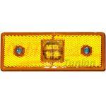 Оранжевый боковой габаритный фонарь, LED DC 12-24V, 1 шт, OT-801
