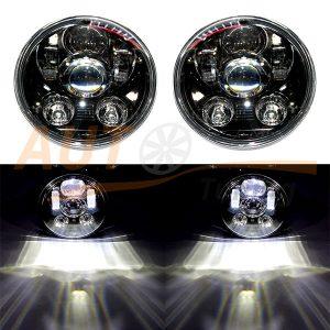 Тюнинговая оптика, светодиодные фары на ВАЗ 2103-2106, DC 12V, 2шт, KRM-3025