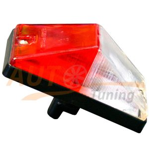 Красно-белый габаритный фонарь, LED DC 12-24V, Red & White, 1 шт, RWT-906