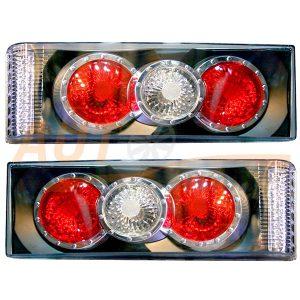 СТОП-сигналы на ВАЗ-2108-09-099 с LED повторителем поворота, 2 шт, CNC-1213