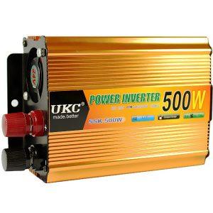 UKC - Автомобильный инвертор напряжения, 24V→220V, SSK-500W