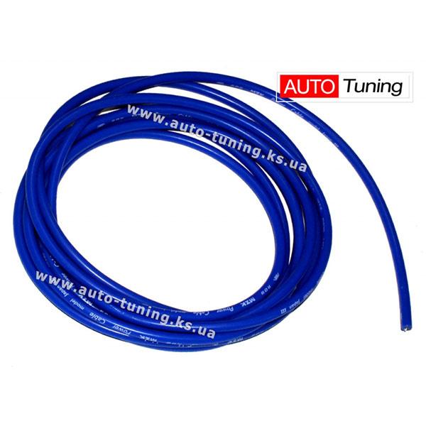 JAPAN – Высоковольтный кабель для бензиновых авто, 100% силикон, продается на метраж, Blue