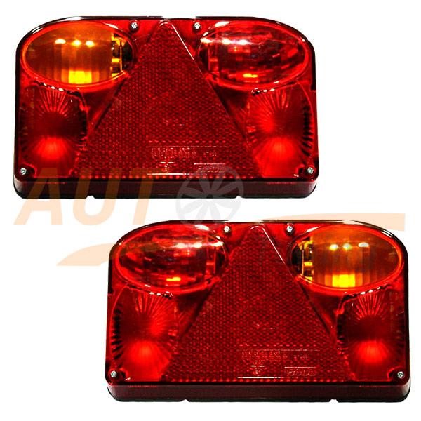 Универсальные СТОП-сигналы на грузовой автомобиль, DC 24V, 2 шт, DR-5N