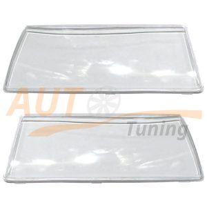 Прозрачные стекла на оптику ВАЗ 2108-09-099 под линзы, пластик, 2 шт, PC48-LR