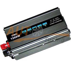 UKC – Инвертор напряжения автомобильный, SSK-1200, 12/220, 1200W