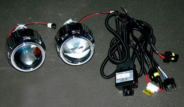 Комплект ксенонового света c би-ксеноновыми линзами, DC 9-16V, RP-7350A