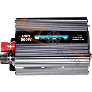 UKC – Инвертор напряжения автомобильный, SSK-500, 12/220, 500W