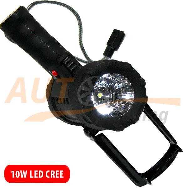 Портативный фароискатель дальнего света, на суше и под водой, 10W, MX-6001-D