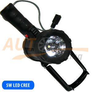 Портативный фароискатель дальнего света, на суше и под водой, 5W, MX-6001-A