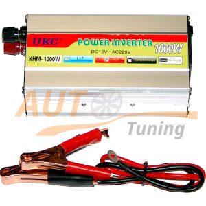 CCTV / UKC – Инвертор напряжения автомобильный, KHM-1000, 12/220, 1000W