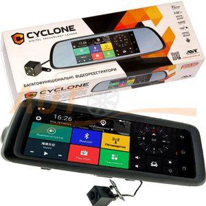 Cyclone - Зеркало заднего вида с видеорегистратором и камерой заднего вида, HD 1920×1080, Wi-Fi, MR-225 AND 3G