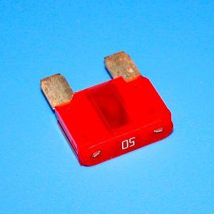 Плавкий предохранитель для автомобиля, 50A, Red, Euro MAXI