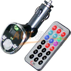 Radio Plus - FM-модулятор с пультом управления, трансмиттер, MP3-FM, S-25