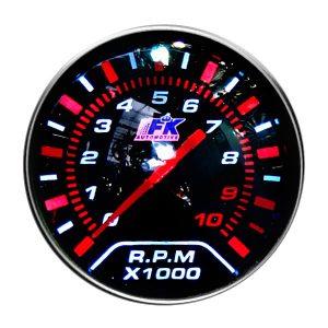 Тахометр спортивный с LED-подсветкой Ø 55 мм, Smoke, LED HOLDER