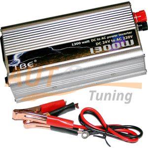 TBE – Инвертор напряжения автомобильный 24/220, 1300W