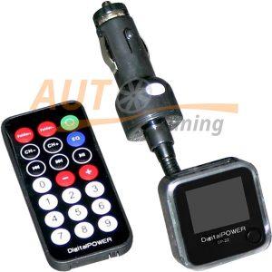 Digital Power - FM-модулятор с пультом управления, трансмиттер, MP3-FM, DP-22