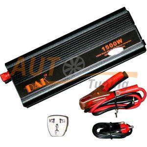 DAK – Инвертор напряжения автомобильный 24/220, 1500W