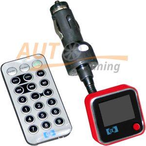 CAR Music - FM-модулятор с пультом управления, трансмиттер, MP3-FM, T-15