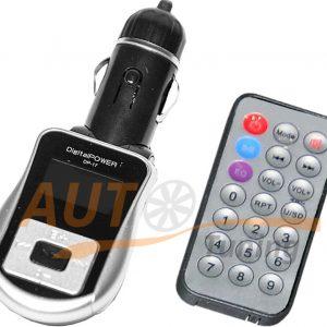 Digital Power - FM-модулятор с пультом управления, трансмиттер, MP3-FM, DP-17
