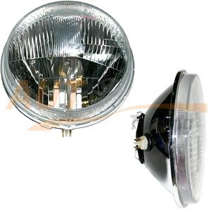 Комплект оптики WESEM с плоским стеклом на ВАЗ 2101, КАМАЗ, ГАЗ, УАЗ, дальний свет, H4, 2шт, RE.12413