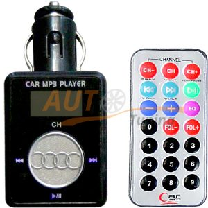 CAR Music - FM-модулятор с пультом управления, трансмиттер, MP3-FM, T-5