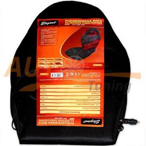 Подогреваемый мат, накидка на автомобильное сидение, 12V, 35-45W, Black, 100571