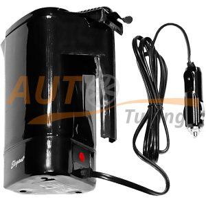 Elegant – Автомобильная кофеварка-чайник, водонагреватель, 2 в 1, 400 мл, 24V, 105531