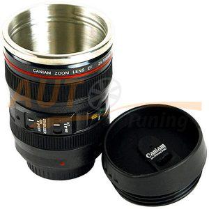 CANIAM – Термокружка с оригинальным дизайном, в виде объектива Caniam EF 24-105 mm 1:4 L USM
